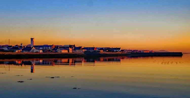 A beautiful sunset in Belmullet. Photo Anthony Hickey