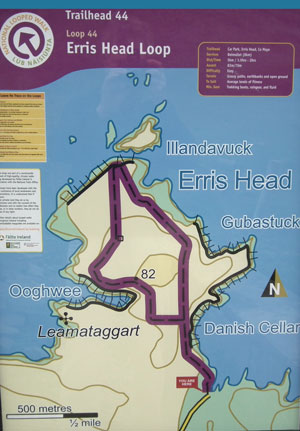 Erris Head Loop Walk, located on the northern tip of the magnificent Mullet peninsula in County Mayo. Photo: Anthony Hickey