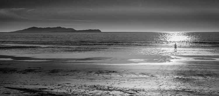 Sunset on Cross beach near Killeen, Louisburgh, Co Mayo. Photo: Anthony Hickey