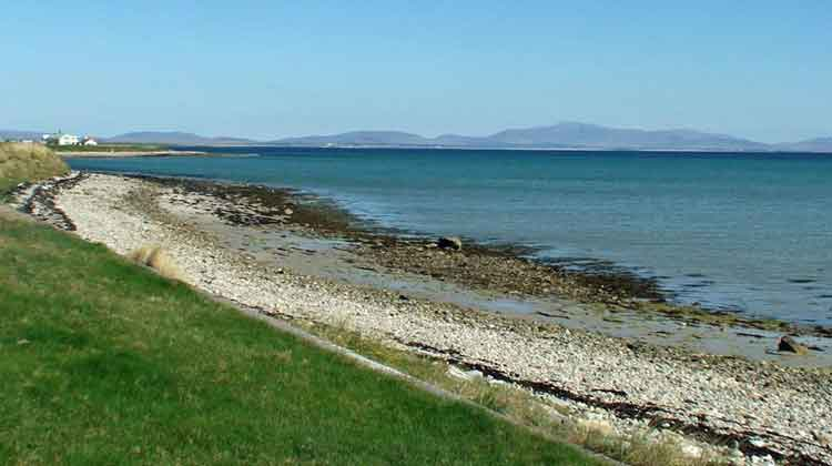 Elly Bay is one of the the best known beaches on the Mullet peninsula in North West Mayo. Photo: Anthony Hickey