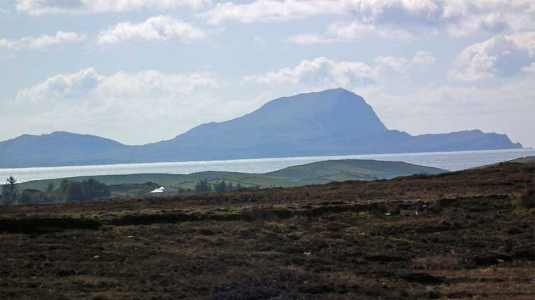 Burrishoole Loop Walks lead you to wonderful views of Clew Bay. Photo: Anthony Hickey