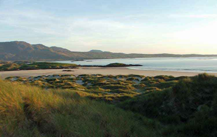 Silver Strand, Killadoon, in south west Co Mayo, is among the most picturesque beaches in Ireland. Photo: Anthony Hickey