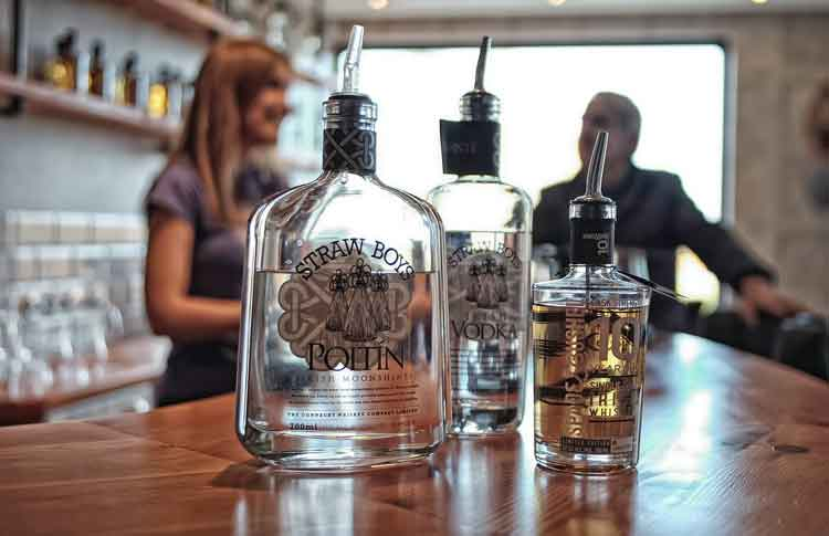 Guided Tours of The Connacht Whiskey Company finish in the distillery's tasting bar where you can sample its fine spirits. Photo: Anthony Hickey