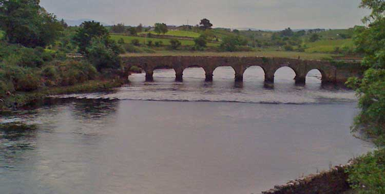 The 7-arched Burrishoole Bridge, one of the loveliest in Ireland. Photo: Anthony Hickey