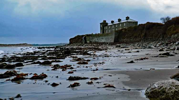 The Old Coastguard Station at Ross beach, near Killala, Co Mayo, which dates back to the 19th century, has been converted into holiday apartments. Photo: Anthony Hickey