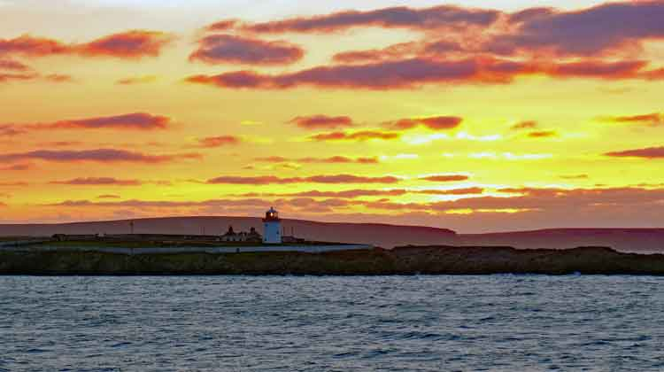 Broadhaven Lighthouse, Co Mayo. Photo: Anthony Hickey