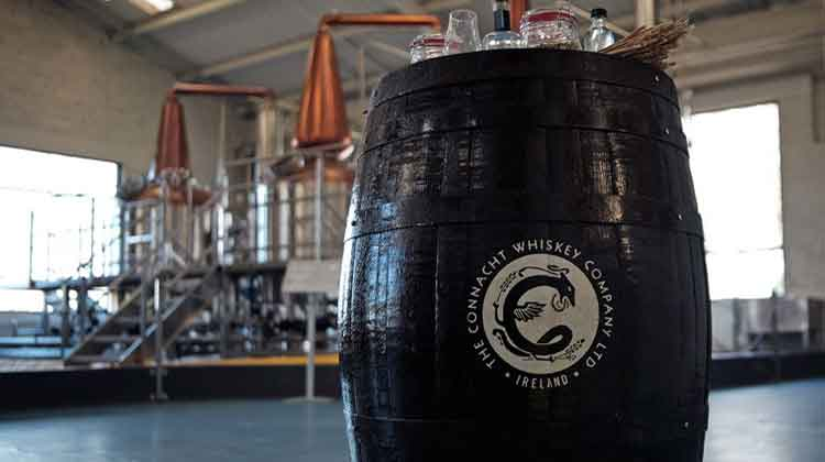 The Connacht Whiskey Company is distilling traditional style pure pot-distilled Irish whiskey in Ballina, Co Mayo. Photo: Anthony Hickey