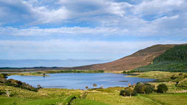 Drumleen Lake Loop Walk, one of the most beautiful family-friendly walks in Mayo. Photo: Anthony Hickey