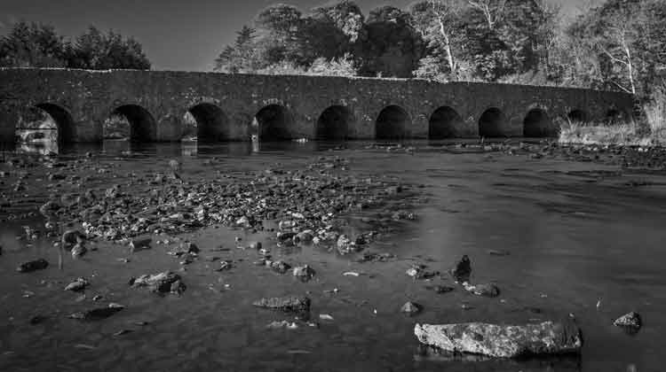 Palmerstown Bridge, Palmerstown, Castlereagh, Killala, was built round about 1788 by the 6 Langan brothers from Co Donegal. Photo: Anthony Hickey