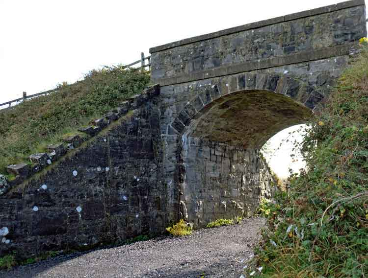 One of the disused railway bridges along the Monasteries of the Moy Walking and Cycling Trail. Photo: Anthony Hickey