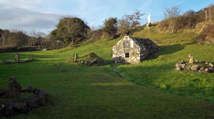 Tobar Mhuire, St. Mary's Holy Well, near Rosserk Abbey, Ballina, Co Mayo. Photo: Anthony Hickey