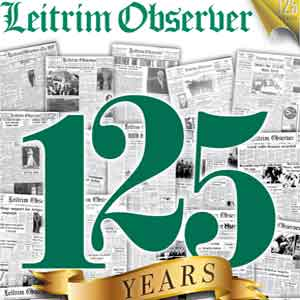 leitrim observer in carrick-on-shannon, co leitrim, cerebrates 125th anniversary