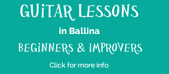 guitar lessons in ballina