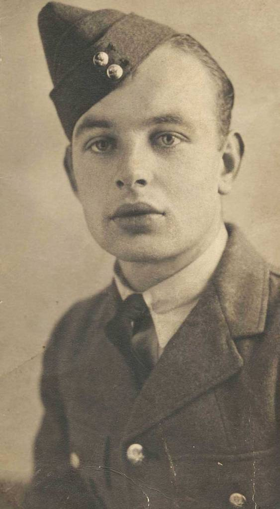 Sergeant James Dunne (1918-1943), Wireless Operator/Air Gunner, 464 Squadron, RAF Feltwell, Norfolk, photographed in 1939. Photo: Courtesy Dunne family.