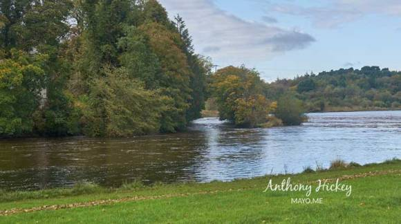 """The docks"" on the River Moy at Riverslade, Ballina. Photo: Anthony Hickey"