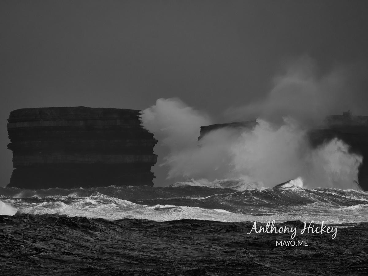 storm downpatrick head